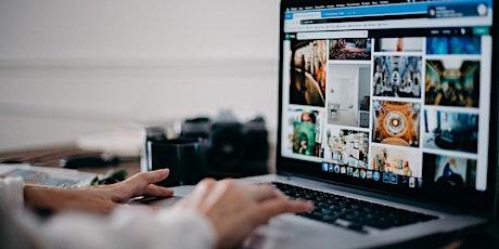 Photo Management: Editing, Sharing & Storing tickets