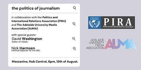 The Politics of Journalism: ownership and supression in the media tickets