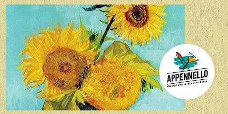 Brunate (CO):Girasoli e Van Gogh, un aperitivo Appennello biglietti