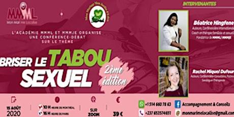 BRISER LE TABOU SEXUEL 2ème Edition. billets
