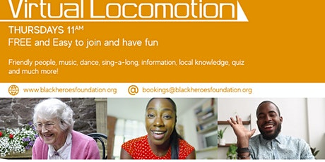 FREE Virtual Locomotion in your Living Room!  The Online Club of FUN tickets
