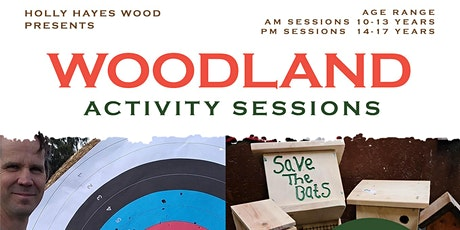 Woodland activity session tickets