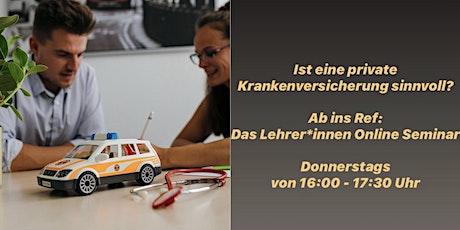 Ab ins Ref: Das Lehrer*innen Online-Seminar Tickets