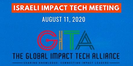 Uniting the Israeli Impact Tech Ecosystem tickets