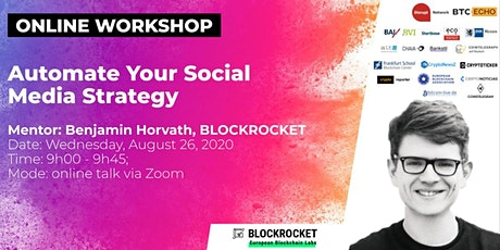 Automate Your Social  Media Strategy (Online Workshop) Tickets