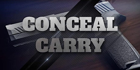 Concealed Carry Class (With Shooting ) tickets