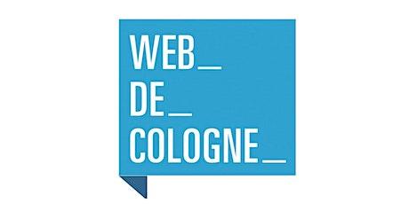 Web de Cologne HR Fachgruppe - Arbeitsrecht in agilen Zeiten tickets