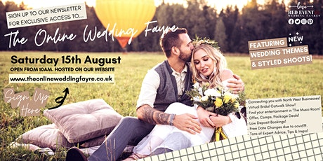 The Online Virtual Wedding Fayre - North West UK tickets