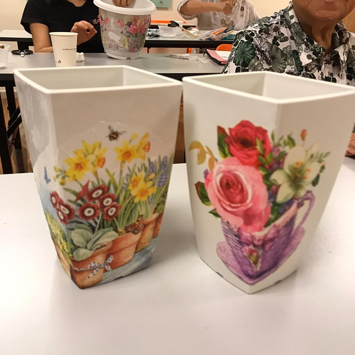 Decoupage Art Course starts March 10 (8 Sessions) image