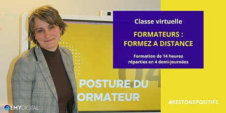 Classe virtuelle - Formateurs : formez à distance (2 jours - 750€) billets