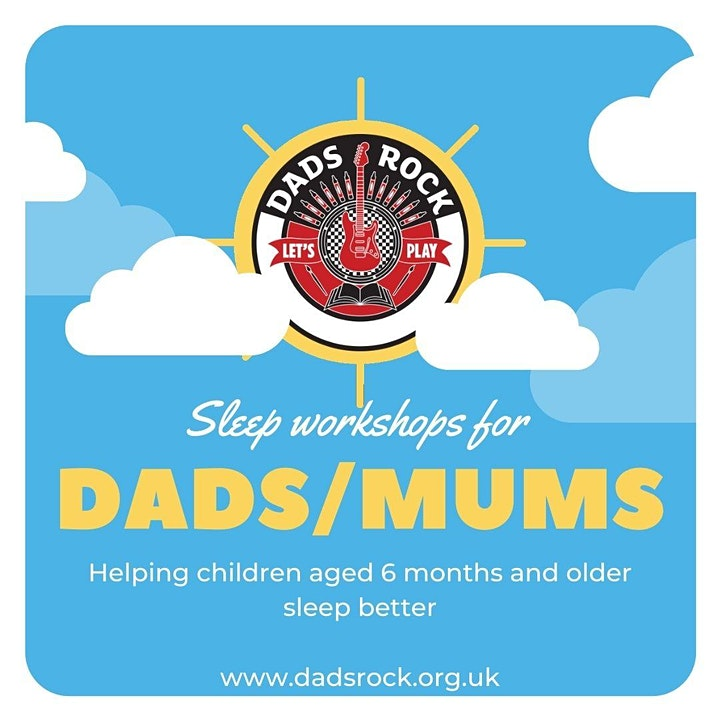 Sleep Workshop for Dads and Mums - Free and Online image