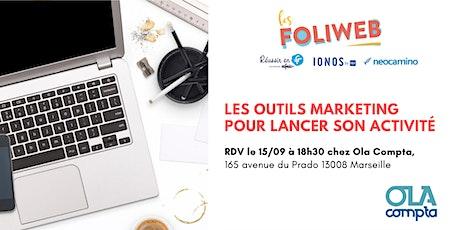 [Marseille] Les outils marketing pour lancer son activité billets