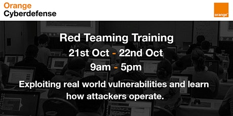 Orange Cyberdefense Trainings -Master BlackOps Hacking tickets