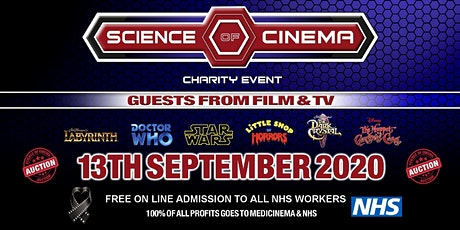 SCIENCE OF CINEMA ON-LINE CHARITY EVENT tickets