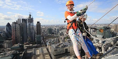 Maggie's Broadgate Abseil 2021 - register your interest tickets