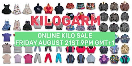 KILOGARM ONLINE KILO SALE AUGUST 21ST - 23RD 9PM GMT+1 Tickets