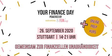 YOUR FINANCE DAY - gemeinsam zur finanziellen Unabhängigkeit Tickets