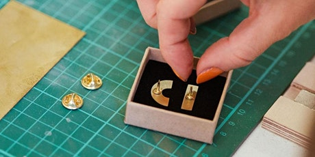 Beginners Brass Pin Badge Making Class tickets