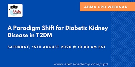 A Paradigm Shift for Diabetic Kidney Disease in T2DM tickets