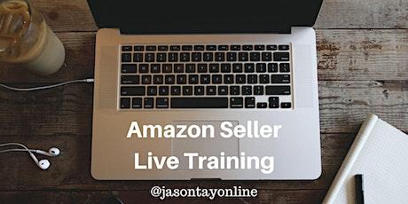 Amazon Seller Live Training, 22-23 Aug 2020 (Sat-Sun) tickets