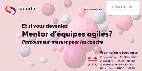 Webinaire : Devenez mentor d'équipes agiles (Spécialisation pour coachs) tickets