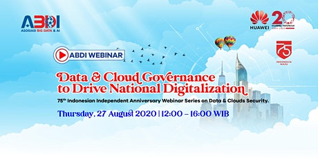 DATA AND CLOUD GOVERNANCE TO DRIVE NATIONAL DIGITALIZATION tickets