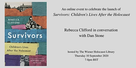 Online Book Launch: Survivors: Children's Lives after the Holocaust tickets