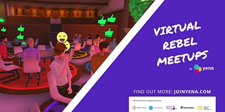 Interview with Nick Telson of DesignMyNight: Virtual Rebel Meetup by Yena tickets