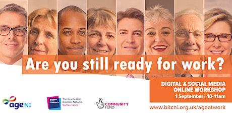 Still Ready for Work: Digital Skills & Social Media tickets