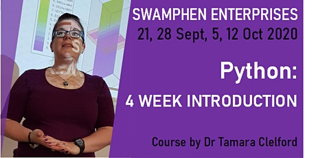 ONLINE COURSE PYTHON: GETTING STARTED IN 4 WEEKS tickets
