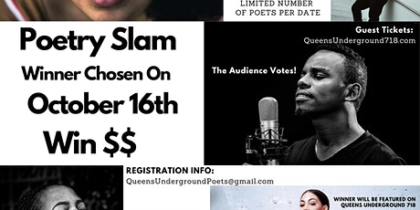 POETRY SLAM  - Live Online - Audience- Chat With The Judges biglietti