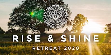 Rise and Shine REBIRTH RETREAT 2020 tickets