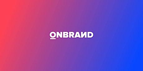 Studio OnBrand: September Edition tickets