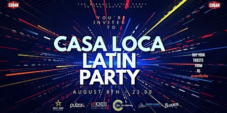 CASA LOCA LATIN PARTY tickets