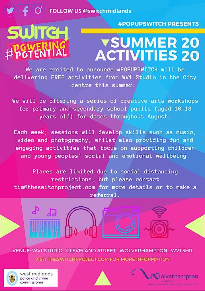 Summer Activities 2020 image