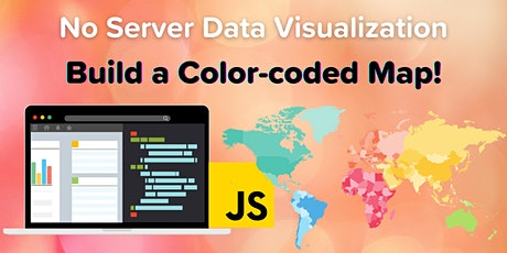 No Server Data Visualization: Build a Color-coded Map Data Project tickets