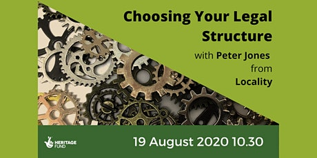 Choosing Your Legal Structure tickets