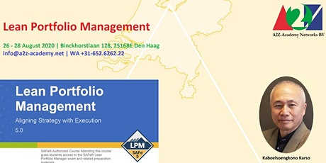 SAFe Lean Portfolio Management LPM2008 tickets