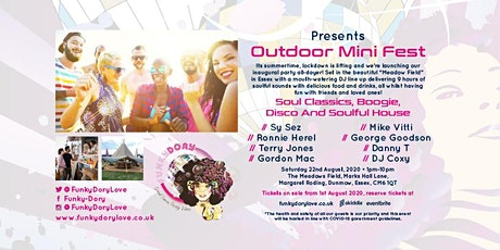 Funky Dory Outdoor Mini Fest tickets