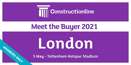 London Constructionline Meet the Buyer 2021 tickets