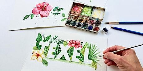 Watercolour Workshop | Island Vibes (Texel) tickets