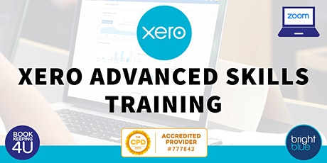 Xero Advanced Skills CPD Online Training tickets