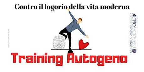 Training Autogeno biglietti