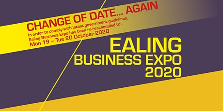 Ealing Business Expo: Mon 19 - Tue 20 October 2020 tickets