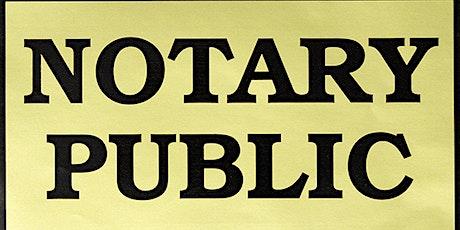 Notary Public tickets