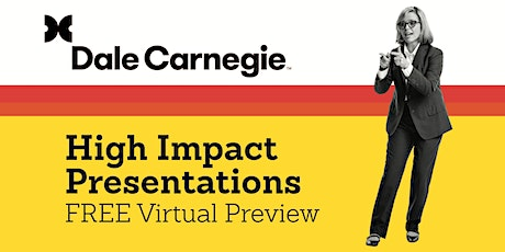 High Impact Presentations-FREE Preview tickets