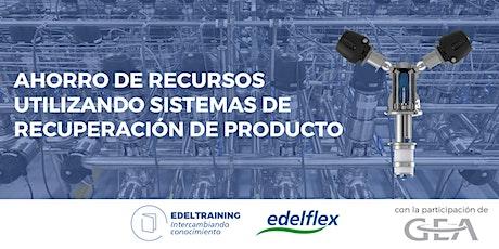 Ahorro de recursos con sistemas de recuperación de producto entradas