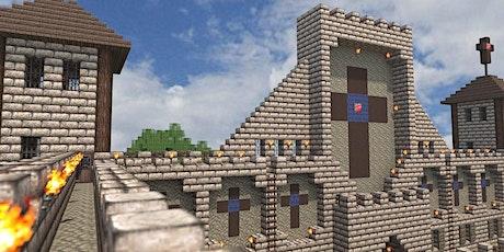Kostenloser Workshop des NRW Forums: Minecraft -  Burgen und Kathedralen Tickets