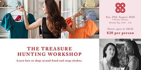 THE TREASURE HUNTING WORKSHOP tickets