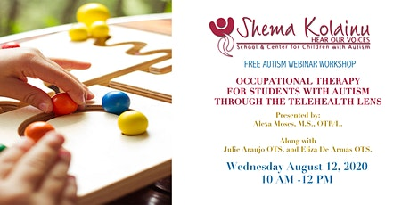 Occupational Therapy for Students with Autism Through the Telehealth Lens tickets